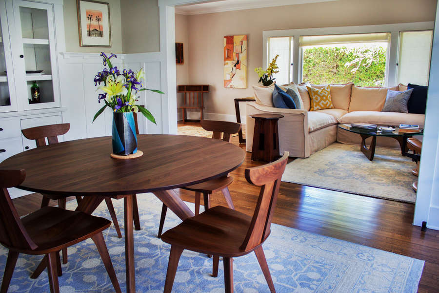 Living Room leads to Dining Room