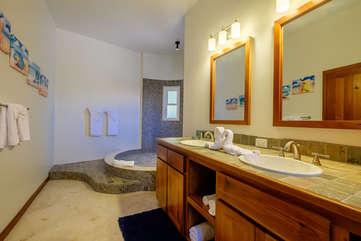Indigo Belize 2A Master Bath