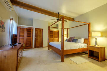 Indigo Belize 4A Master Bedroom
