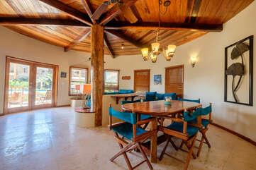 Indigo Belize 4A Dining Area