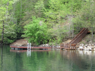 Tuckaway Stairs and Private Dock