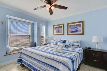 Master Bedroom with full ocean view!
