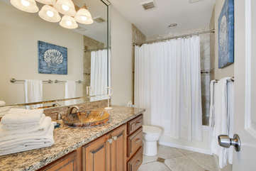 Master Bath with Jacuzzi tub