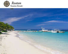 Beautiful beaches in Roatan
