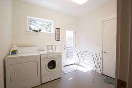 Laundry room - middle floor (you enter home from middle floor)