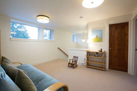 Living space - upstairs