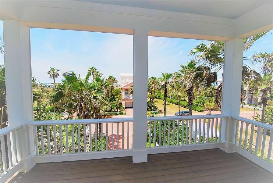 Third floor Guest Bedroom Balcony