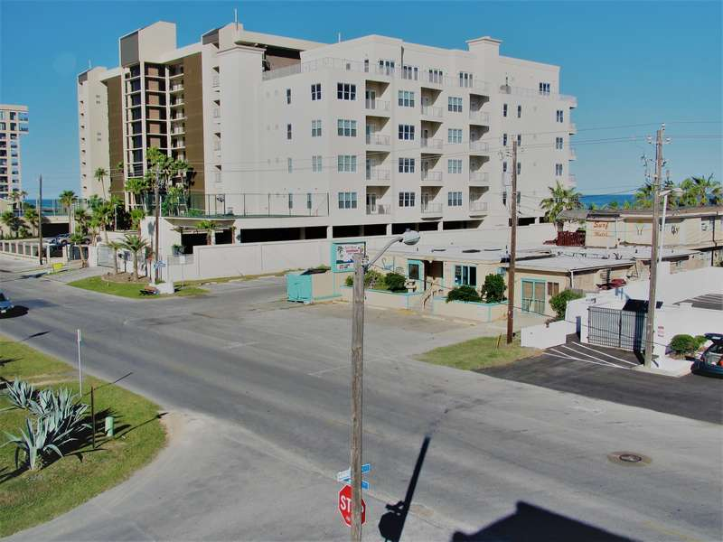 Right across the street from the beach access; The waves sound amazing from your balcony.
