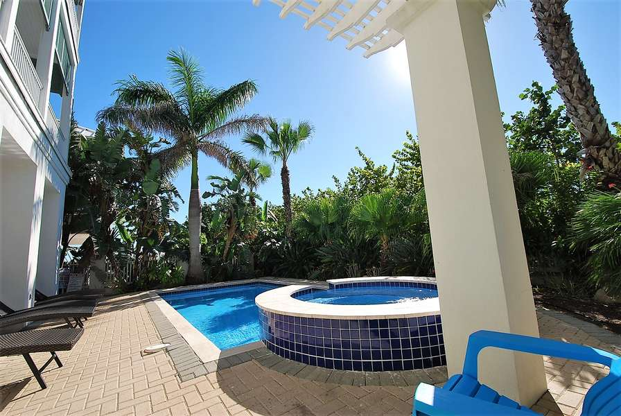 Private Swimming Pool & Lounging