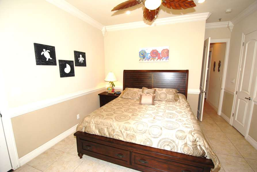 Master Bedroom; King Size Bed