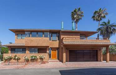 Custom built home steps from all Del Mar has to offer