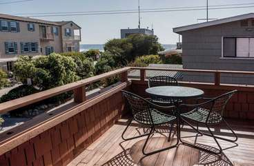 Enjoy the views from our large second floor patio