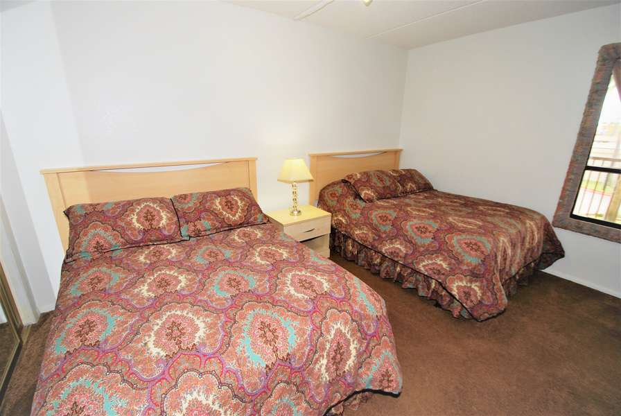 3rd bedroom; 2 full size beds