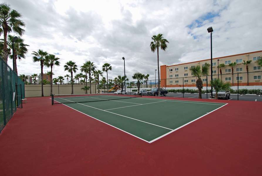 Another view of Tennis court