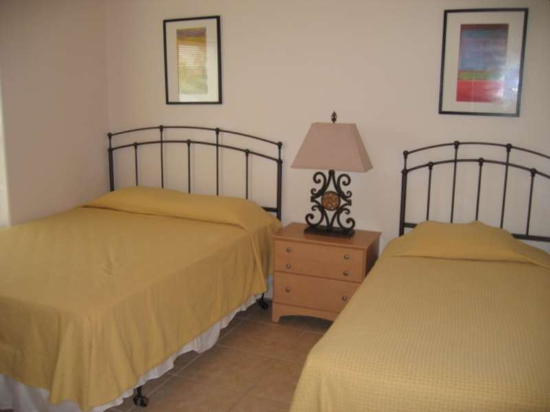 Guest Bedroom; 1 Full size Bed 1 Twin size bed: TV in bedroom