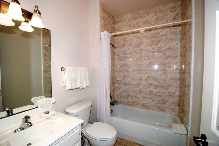 Guest bath / tub & shower