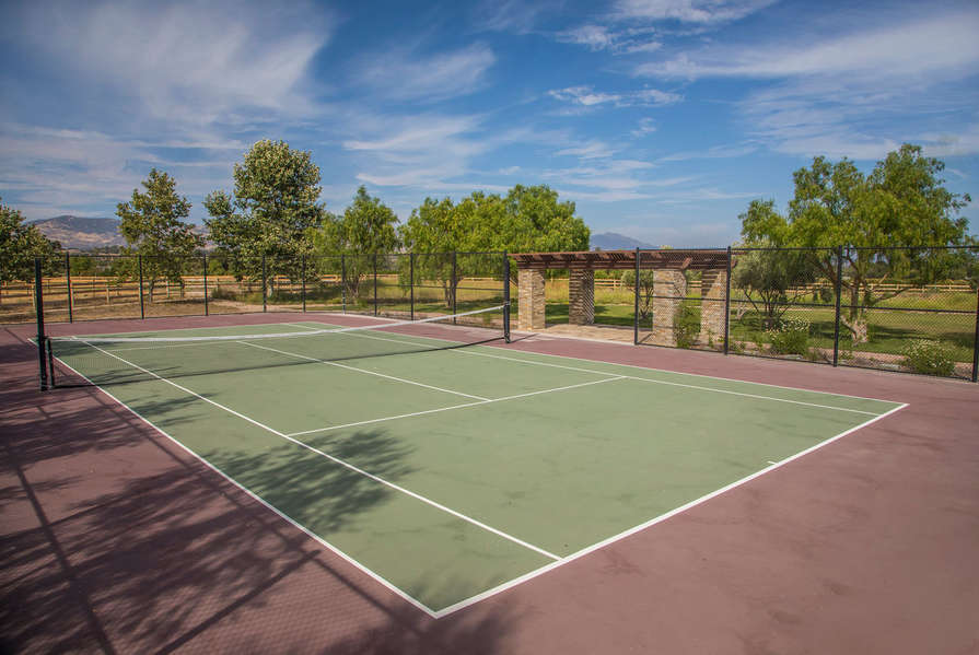 Enjoy some tennis at the home court!