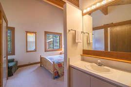 Bedroom 1- Queen with en suite bathroom