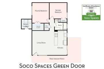 Soco Spaces Green Door: Floor Plan