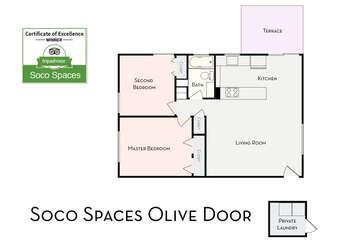 Soco Spaces Olive Door: Floor Plan