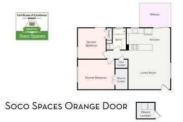 Soco Spaces: Orange Door Floor Plan