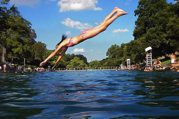 There is nothing quite like Austin's Barton Springs Pool, voted