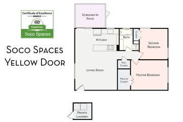 Soco Spaces Yellow Door: Floor Plan