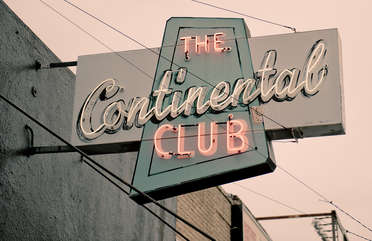 Don't miss the famous continental club on South Congress.