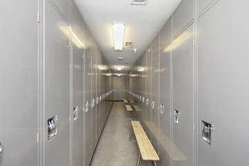 Ski Locker storage, free