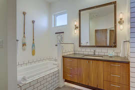 Master bath- upstairs