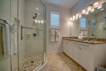 Guest Bathroom Walk-in Shower