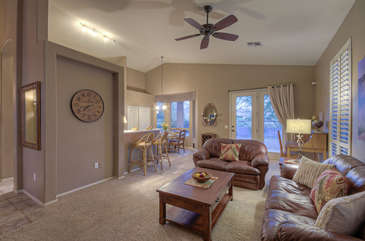 Doors and windows contribute to home's ambiance by permitting ample sunlight to flow into living areas