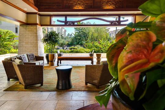 Beach Villas Lobby