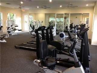 Fully Equipped Gym at the Clubhouse