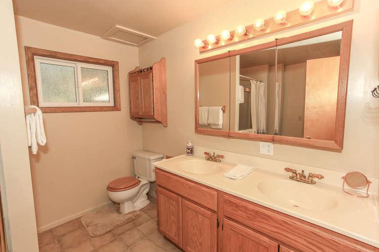 Shared Hallway Full Bathroom