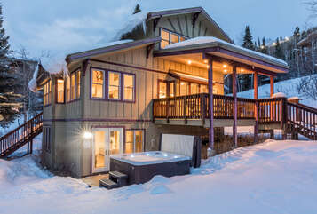 Welcome to the one-of-a-kind Gondola House - just 200 yards from the slopes