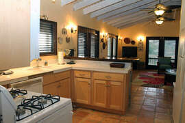 Great Room - kitchen, dining, living areas