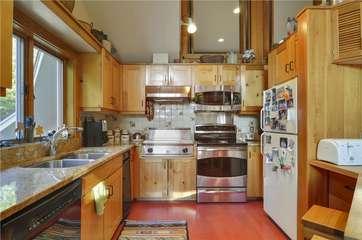 Main Level - Kitchen