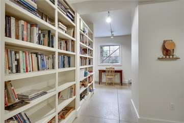 Lower Level - Book Case