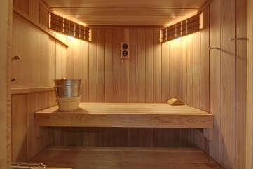 Main Level- Sauna