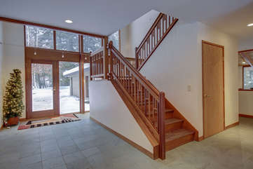 Main Level Entry and Stairs