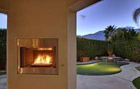 Beautiful backyard views