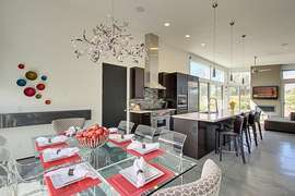 Dinning and kitchen