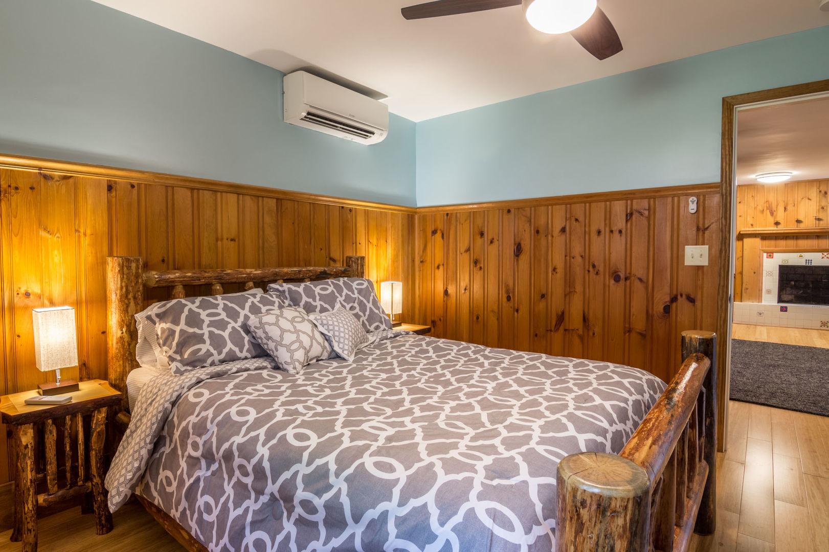 Queen sized bedroom