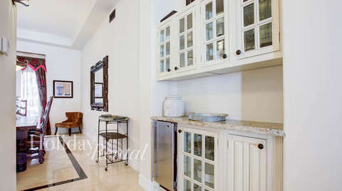 Kitchenette by formal dining room