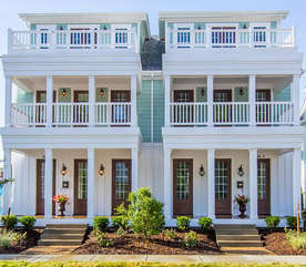 Four-Bedroom Townhouse Front Exterior