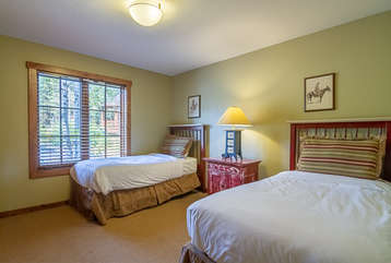 Third Bedroom - Two Twin Beds