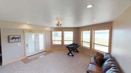 Great views of the Lake from everywhere in the house.