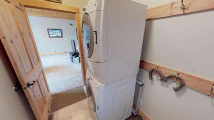 A washer and dryer is available for use while you are staying at Armitage.