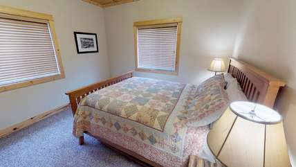 The second bedroom located on the main floor of Armitage.